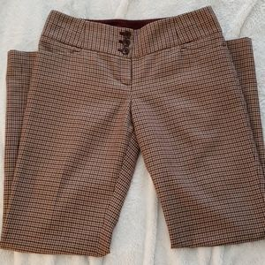 The Limited Cassidy Fit Houndstooth Pants